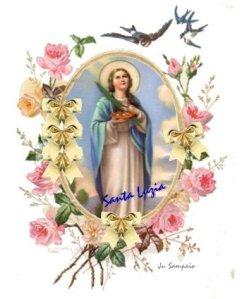13 de dezembro • Dia de Santa LuziaB