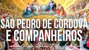 07 DE JUNHO - SAO PEPDOR DE CORDOVA